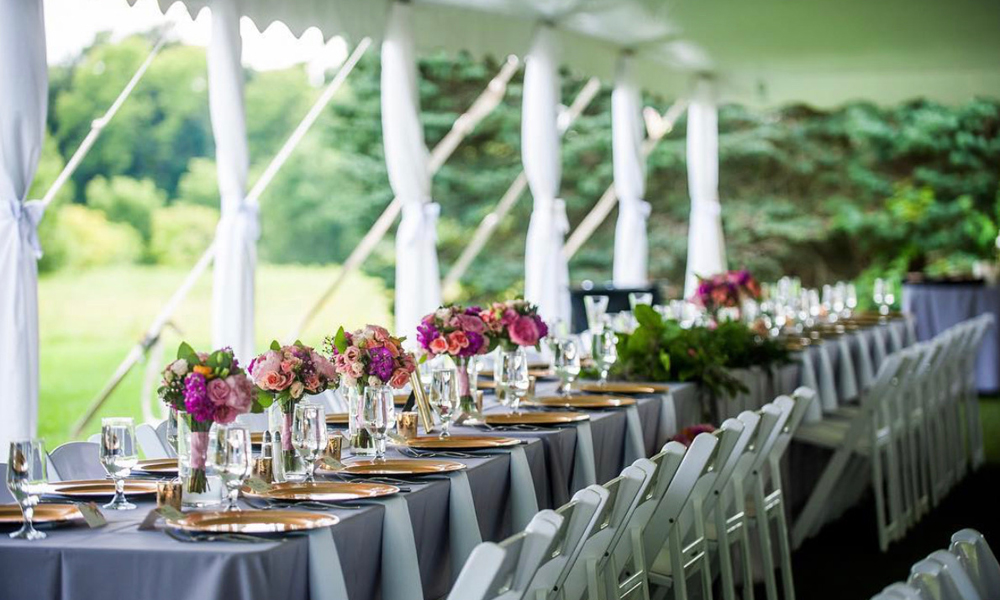Elegant Wedding Tent Settings | 5 Benefits of Using Tents for Events