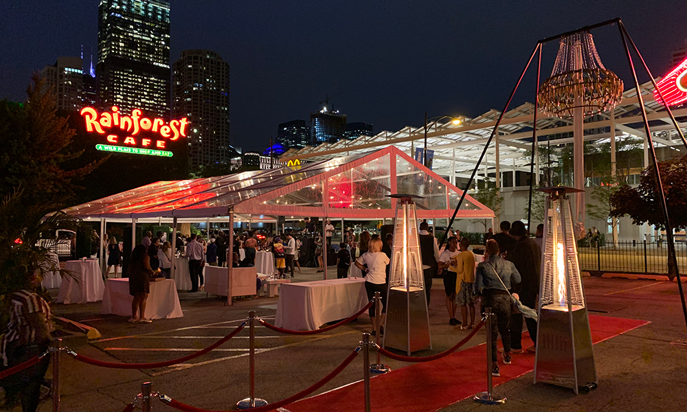 Joliet Tent | How to Host a Socially Distanced Corporate Event