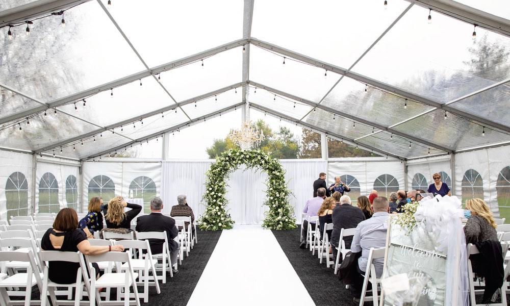 Best Types Of Tents For Outdoor Weddings | Joliet Tent